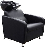 "Hairway Backwash Unit ""Domino"" Black"
