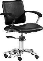 "Hairway Styling Chair ""Augusta"" with wheels"