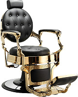 "Hairway Barber chair ""Romeo"" gold"
