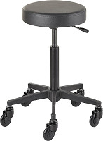 Efalock Cutting Stool Clic Tec Round black M