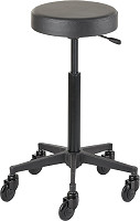 Efalock Cutting Stool Clic Tec Round black L