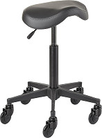Efalock Cutting Stool Clic Tec Saddle black M