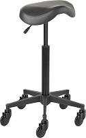 Efalock Cutting Stool Clic Tec Saddle black L