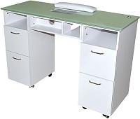 Sibel Amelie Manicure table with suction