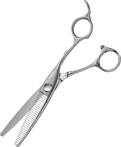 "Joewell Konayuki - Damascus Thinning Scissor 6"" CR 303 RS"