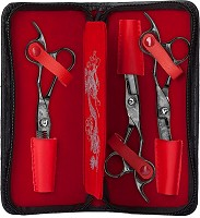 Olivia Garden Dragon Exclusive Case Deal 3 Haidressers Scissor Set