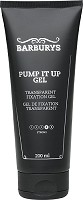 Barburys Pump It Up Gel Transparent Fixation Gel 200 ml