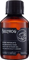 Bullfrog Multi-use Shower Gel Secret Potion N.3 Travelsize 100 ml