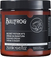 "Bullfrog Shaving Cream Secret Potion N.3 ""Refreshing"" 250 ml"