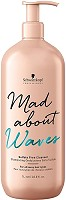 Schwarzkopf Mad About Waves Sulfate-Free Cleanser 1000 ml