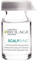 Matrix Biolage ScalpSync Aminexil Anti Hair Loss Tonic 10x6 ml