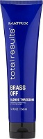 Matrix Total Results Brass Off Blonde Threesome Leave In 150 ml