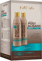 Kativa Kit 2 Straightening Post Treatment 500 ml
