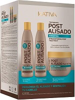 Kativa Kit 3 Straightening Post Treatment 750 ml