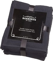 Barburys Double Sided Towels black