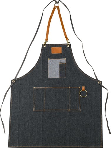 Barburys Macho Barber Denim-Apron