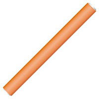 Hairway Flex roller 18 cm orange